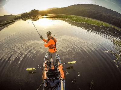 Kayak fishing in alabama